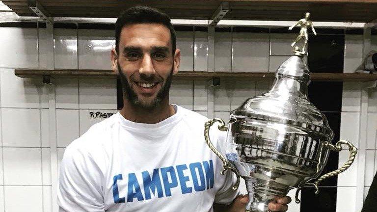 Martín Bonjour, un carhuense en el Manchester City uruguayo