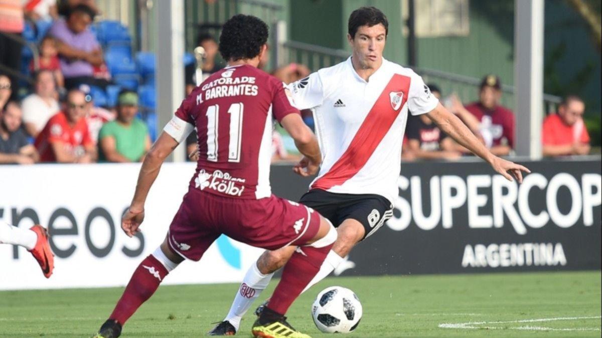 River venció 1-0 a Saprissa de Costa Rica en su primer amistoso