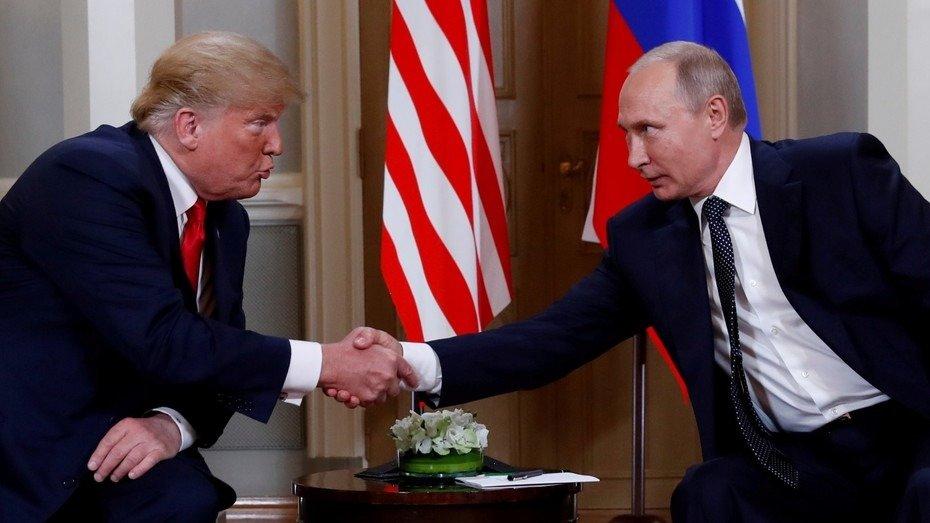 """Trump y Putin juntos en Finlandia: """"El mundo quiere que nos llevemos bien"""""""