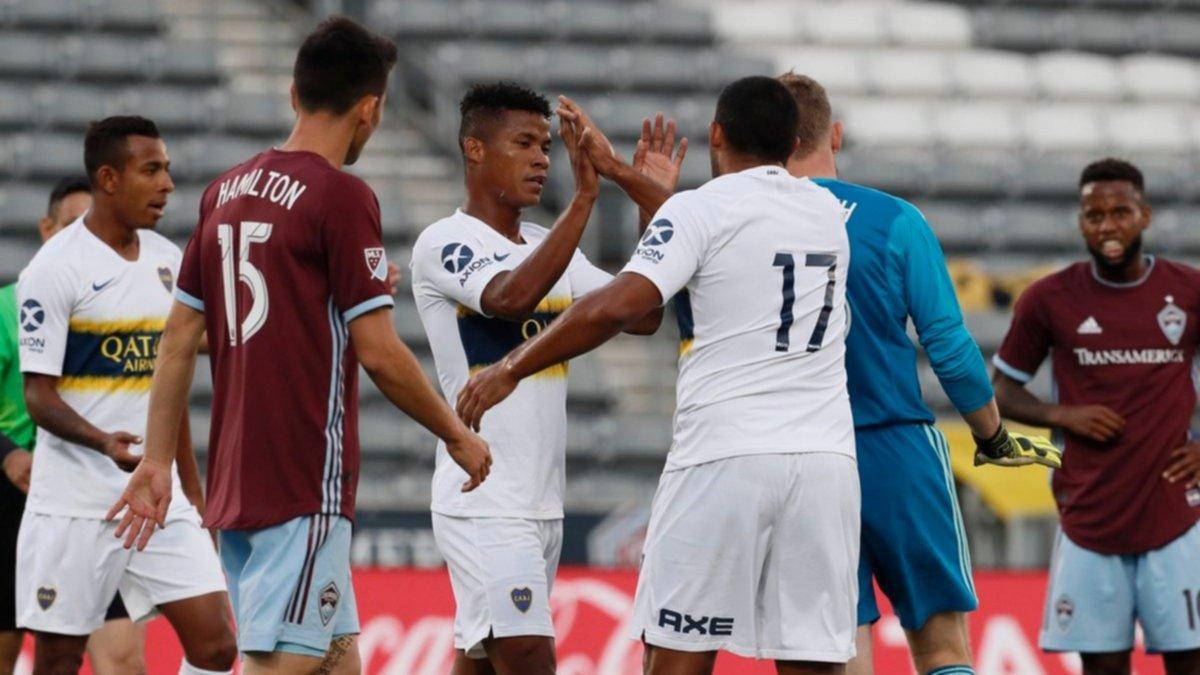 Boca se despidió de Estados Unidos con una derrota en los penales