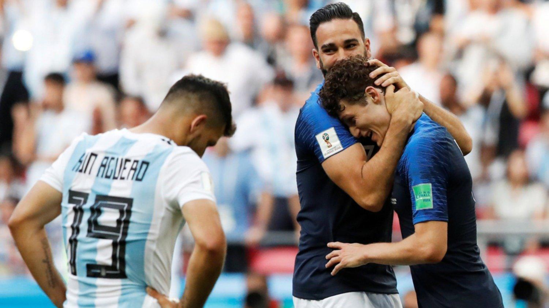 Un gol que sufrió Argentina, elegido como el mejor del Mundial