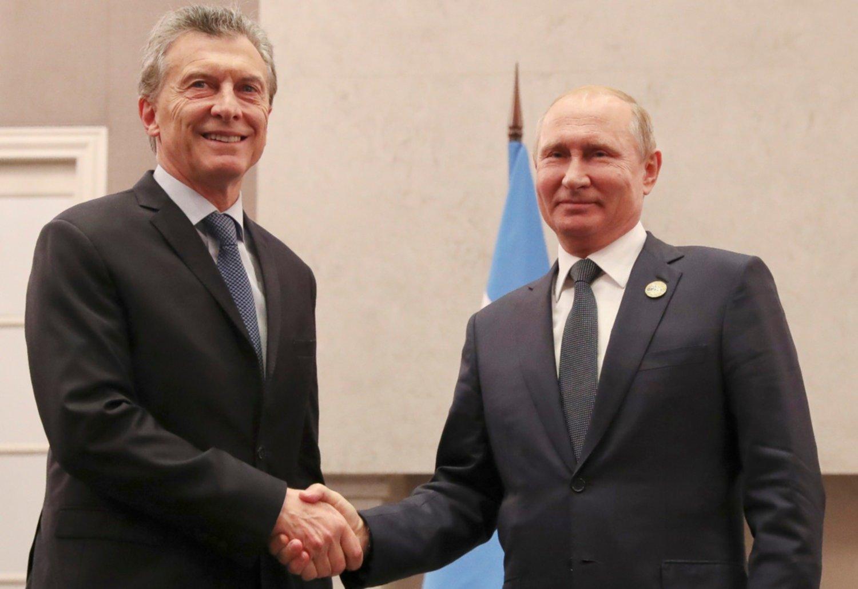 Macri se reunió con Putin y hablaron de fútbol