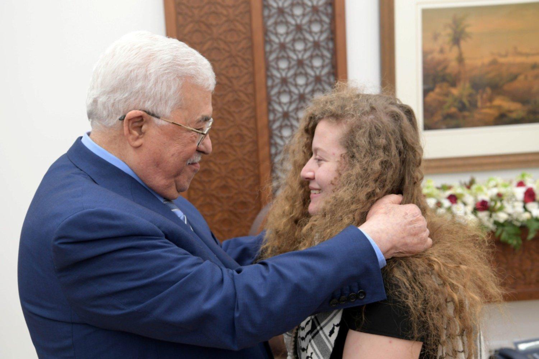 Tamimi se convierte en símbolo de resistencia palestina — Pineda