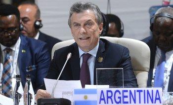 """Macri dijo que """"a pesar de la tormenta en el país están pasando cosas muy buenas"""""""