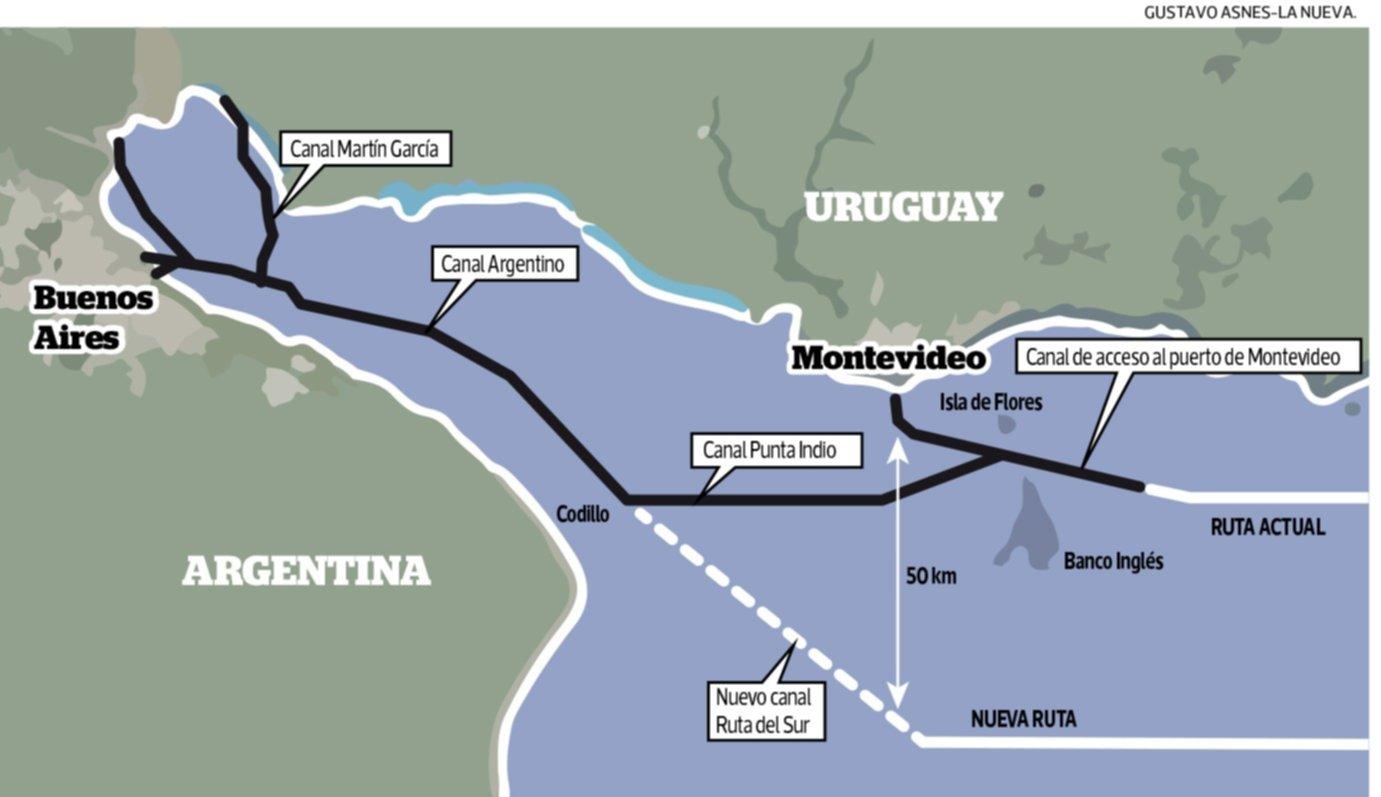 Canal Magdalena: reflotan un proyecto que puede ser un arma de doble filo para el puerto de Bahía Blanca
