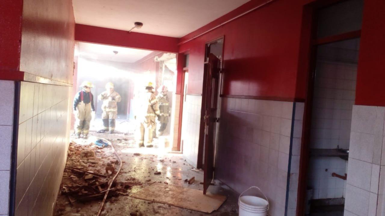 Explosión y muerte en una escuela de Moreno: habrá paro docente y de estatales