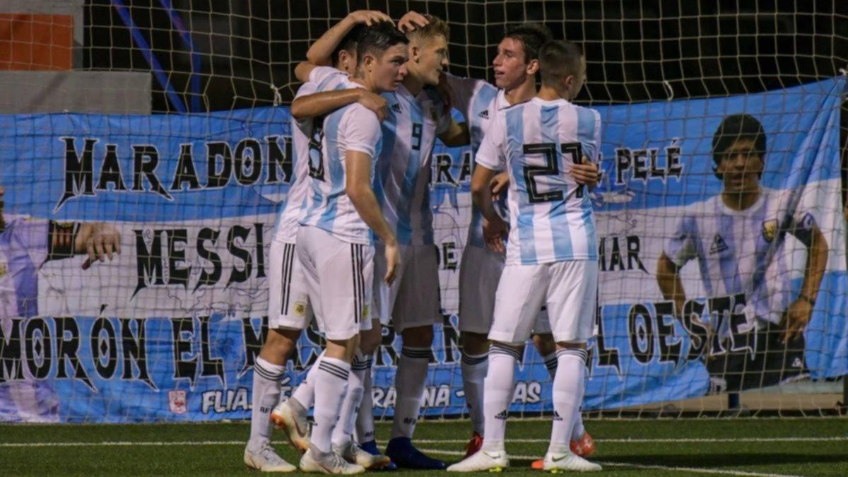 El Sub 20 de Argentina se clasificó a la final del torneo de L' Alcúdia