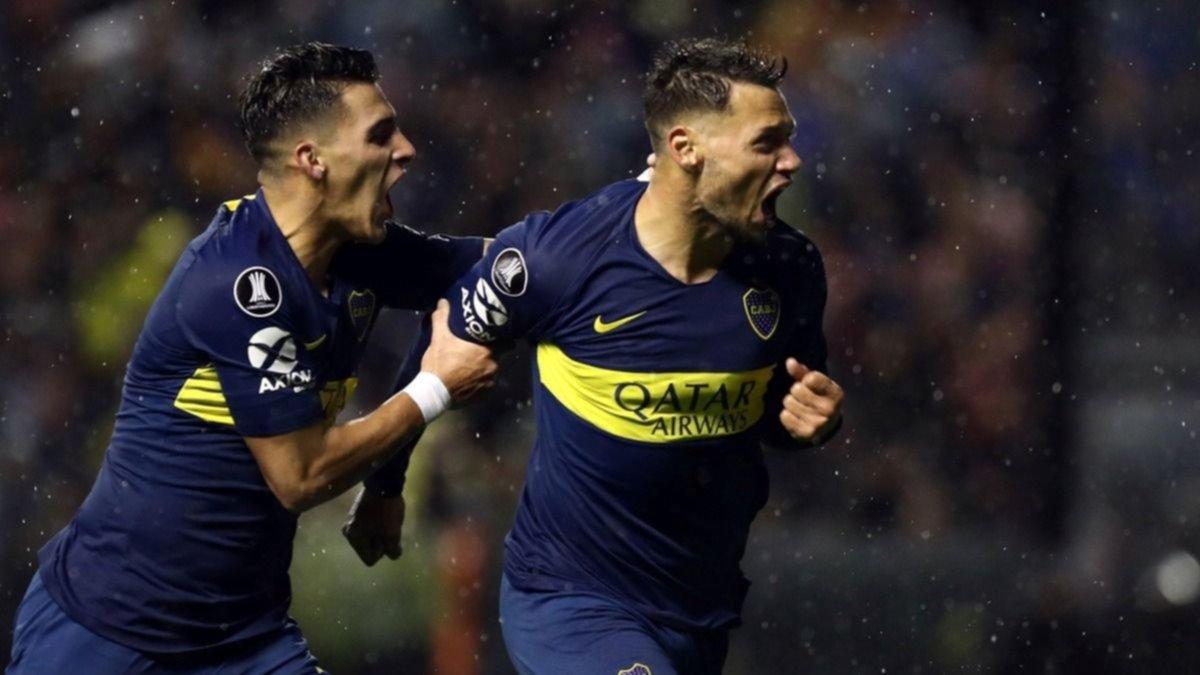 Copa Libertadores: Boca venció 2-0 a Libertad de Paraguay en La Bombonera