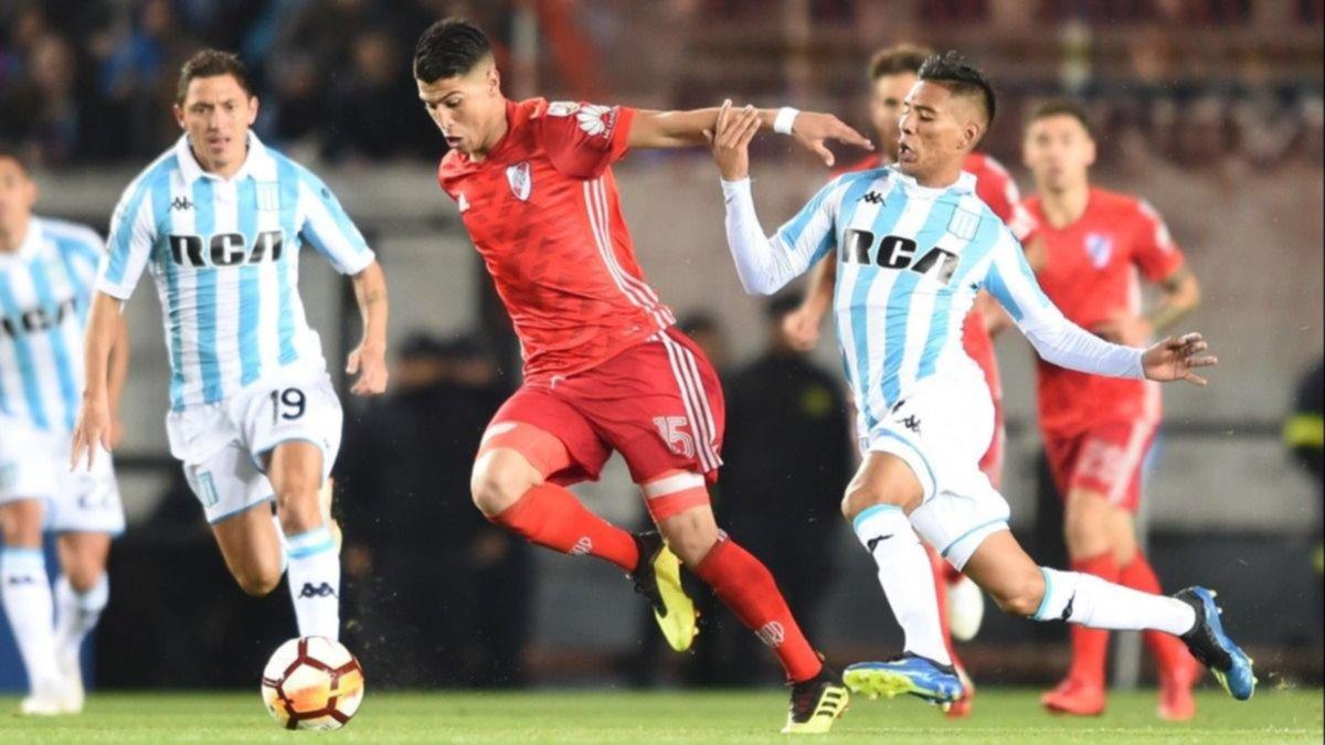 Copa Libertadores: Racing y River no se sacaron ventaja en el primer partido