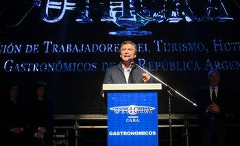 """Macri: """"Se está dando a luz una Argentina que enfrenta los comportamientos mafiosos"""""""