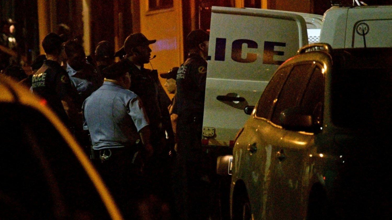 Reportan tiroteo en Filadelfia; hay varios policias heridos