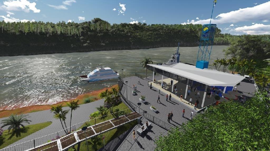 Resultado de imagen para nueva Terminal Fluvial de Puerto Iguazú