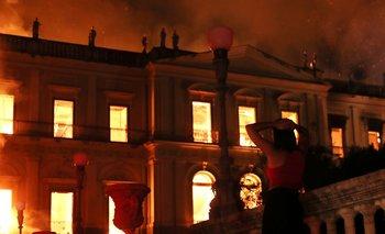 Se incendió el Museo Nacional de Brasil, uno de los más antiguos y con más de 20 millones de piezas