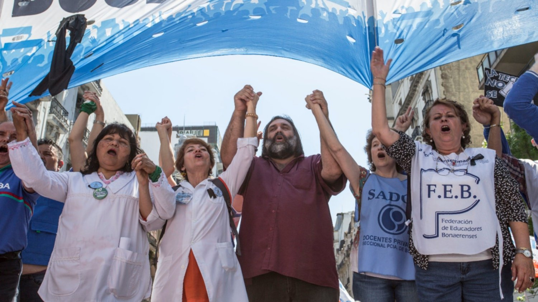 Tras el paro, los docentes bonaerenses y el Gobierno se vuelven a reunir