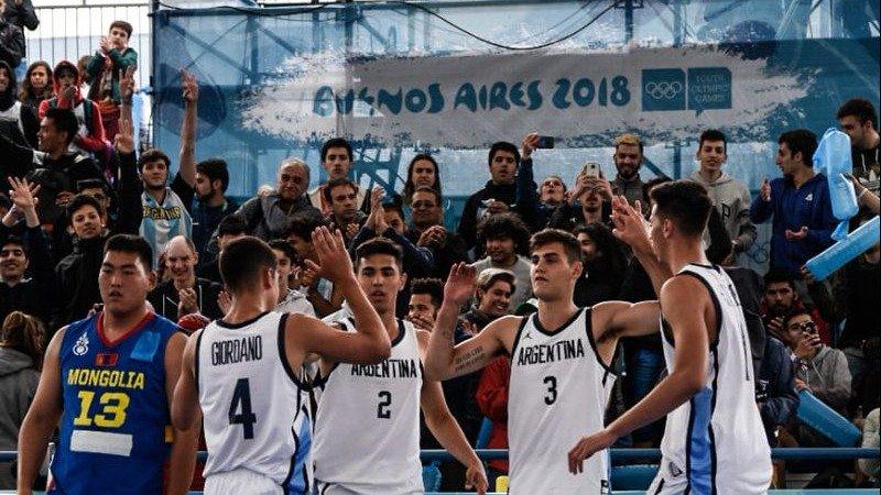 JJ.OO. de la Juventud: con Ruesga, Argentina perdió el invicto pero igual clasificó primero