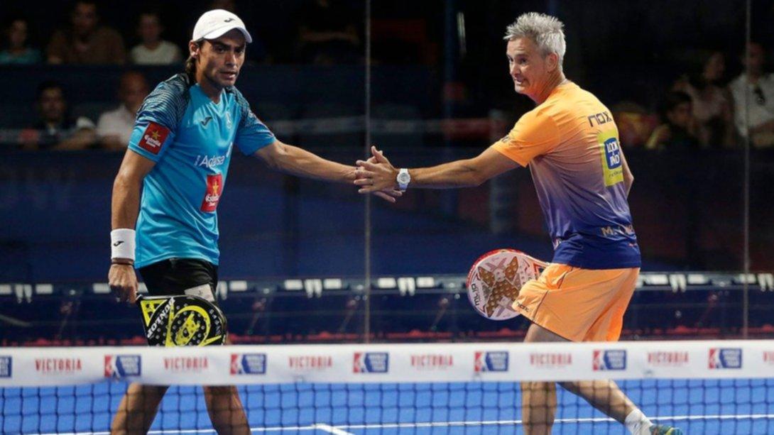 Pádel: Lamperti y Mieres se metieron en las semifinales del Granada Open