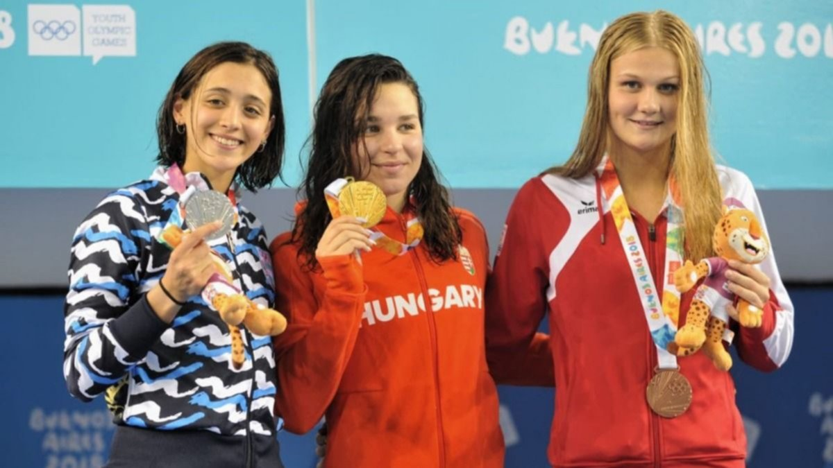 Juegos de la Juventud: Delfina Pignatiello conquistó una nueva medalla de plata