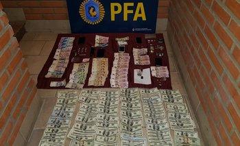 Operativo en una fiesta electrónica: secuestraron 16.000 dólares, celulares y drogas