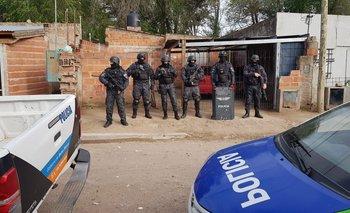 Cinco detenidos y secuestro de drogas durante una serie de allanamientos por venta de estupefacientes