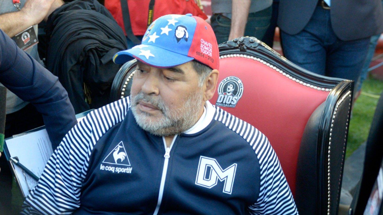 El duro cruce entre Maradona y la 'Gata' Fernández
