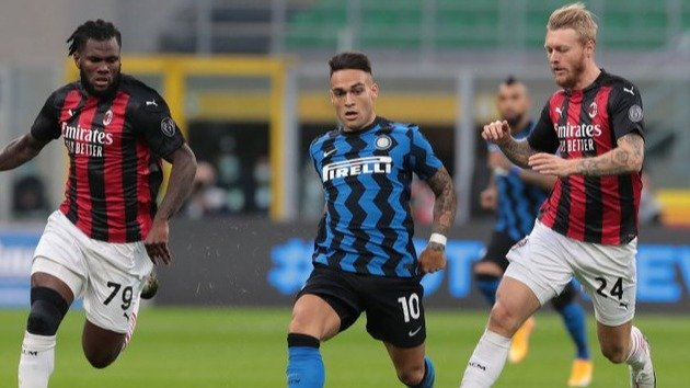 El clásico entre Inter y Milan acapara la atenciónLIGA DE ITALIA