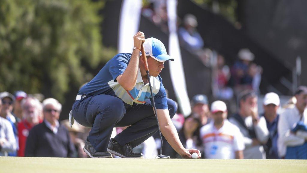 Golf: los aficionados, los encargados de izar la bandera de Argentina