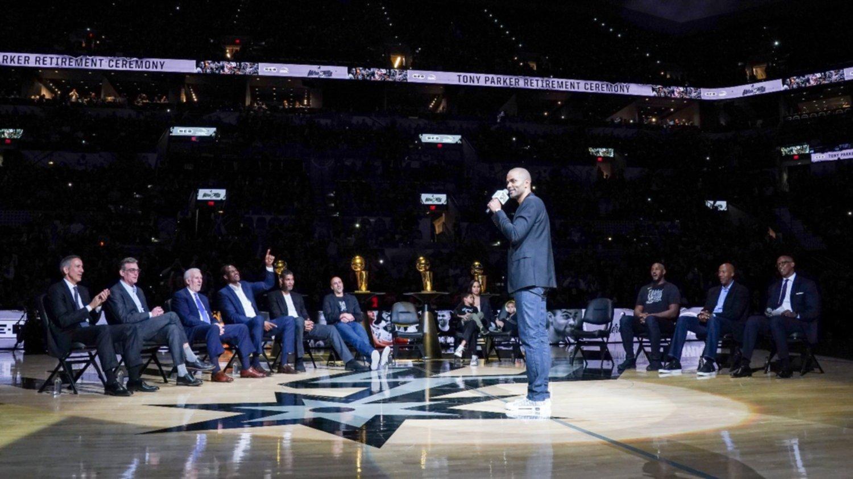 Los Grizzlies estropean el homenaje de los Spurs a Parker