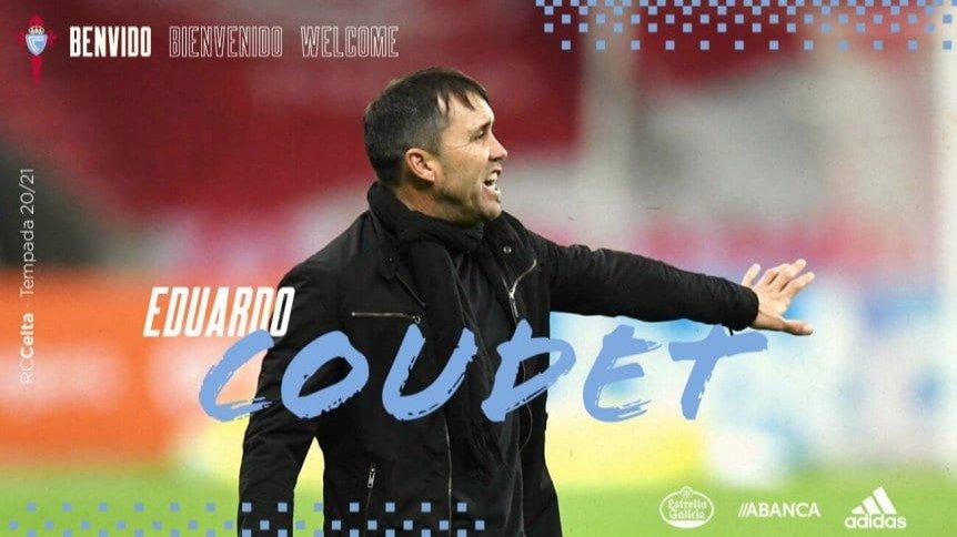 El Chacho Coudet es el nuevo DT de Celta de Vigo