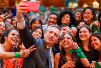 El presidente Fernández anticipó que impulsará el debate sobre el aborto en 2020