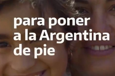 """El mensaje del Gobierno para Año Nuevo: """"Recuperemos la esperanza para poner a la Argentina de pie"""""""